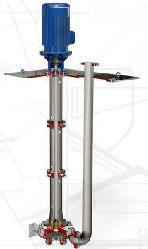 Pionowe pompy wirowe (ISO 5199) typ RBV, RCV, RDV, RGV, RNV
