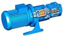 ACE OptiLine - Pompa wrzecionowa ze sprzęgłem magnetycznym do cieczy smarnych, niskociśnieniowa