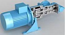 ACG OptiLine - Pompa wrzecionowa ze sprzęgłem magnetycznym do cieczy smarnych, niskociśnieniowa