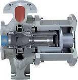ALLMAG CMAT - Pompy wirowe odśrodkowe chemoodporne hermetyczne ze sprzęgłem magnetycznym, do oleju grzewczego (do 350°C) oraz wody gorącej (do 183°C)