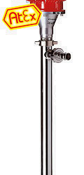 F 550 S - Pompy do beczek i zbiorników, monośrubowe, dla cieczy o wysokiej lepkości