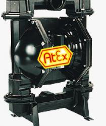 FDM 80 AL/S/GG - Pompy membranowe z napędem pneumatycznym ze stali nierdzewnej 1.4571, aluminium lub żeliwa szarego o wydajności do 1040 l/min