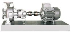 ALLHEAT CTWH - Pompy wirowe wysokotemperaturowe PN 25 do oleju grzewczego (do 400°C) oraz wody gorącej (do 207°C), na płycie montażowej