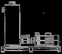 RM - z dodatkowym zbiornikiem ssącym - Pompy wirowe hermetyczne ze sprzęgłem magnetycznym