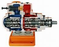 SN - Pompy wrzecionowe do palników olejowych i hydrauliki olejowej, średniociśnieniowe
