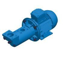 2BIC - Pompa trójwrzecionowa do tłoczenia cieczy smarnych, niskociśnieniowa