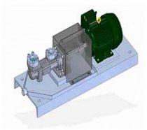 CFHN - Pompa trójwrzecionowa do tłoczenia cieczy smarnych i olejów hydraulicznych, średniociśnieniowa