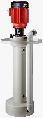 F 706 PP - Pompy wirowe pionowe, chemiczne, bezuszczelnieniowe