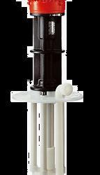 F 726 PP/PVDF - Pompy wirowe pionowe chemoodporne, odporne na suchobieg