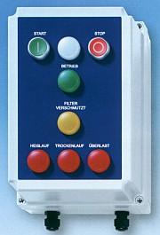 Elektroniczna ochrona pompy - Do pomp wirowych ze sprzęgłem magnetycznym